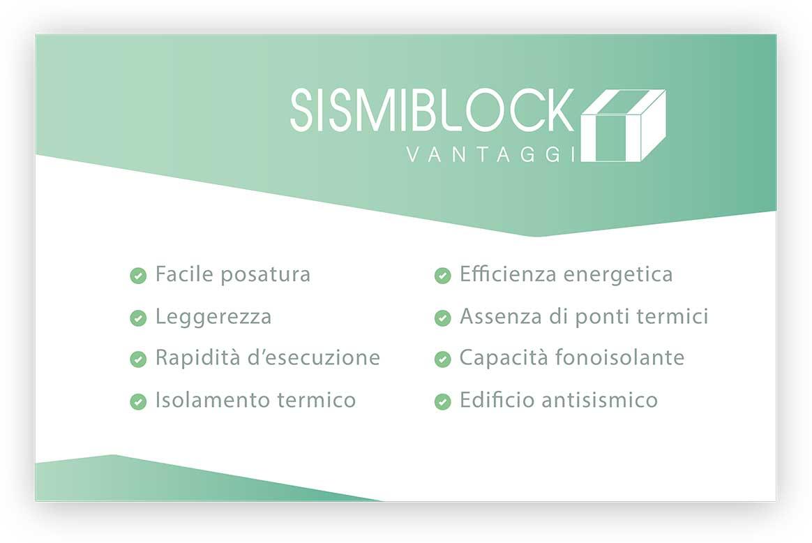 Sismiblock vantaggi