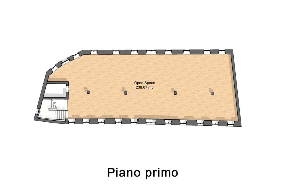 Appartamenti in vendita a Vittorio Veneto - Primo piano