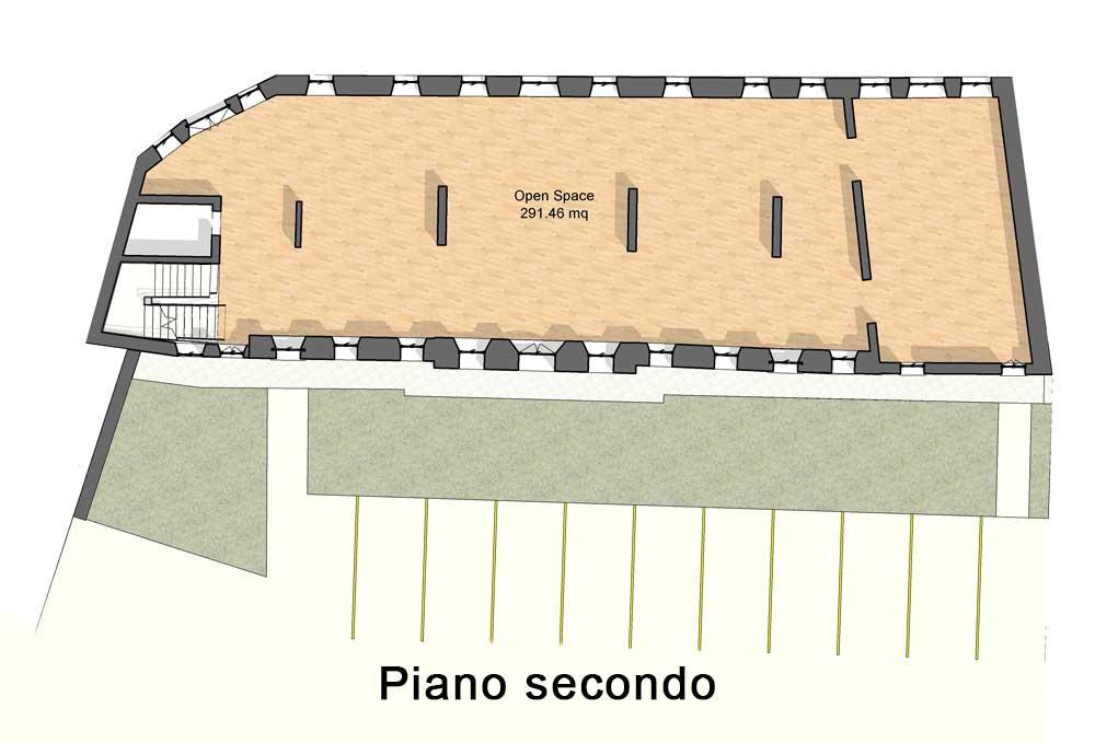 Appartamenti in vendita a Vittorio Veneto - Secondo piano