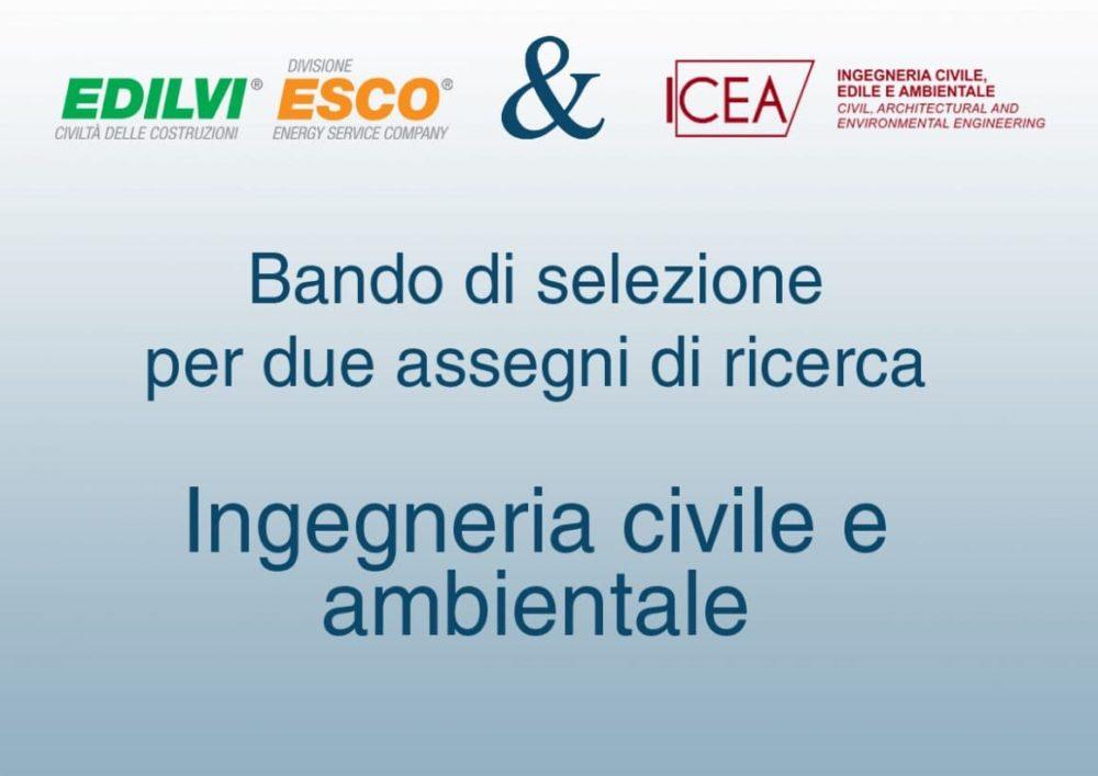assegno di ricerca ingegneria civile