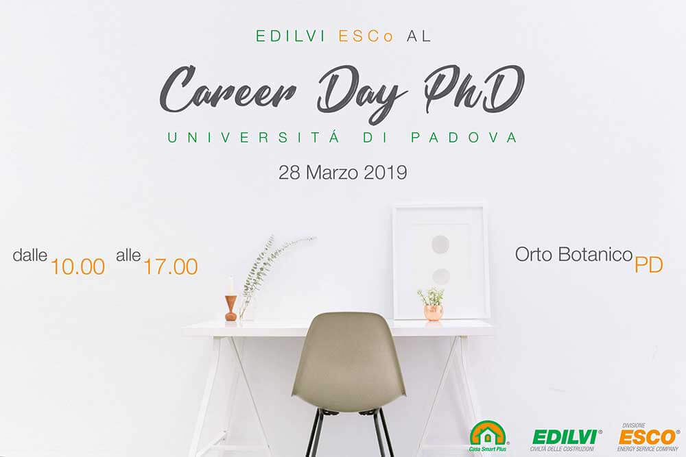 career day per dottorandi 2019 PhD Università di Padova