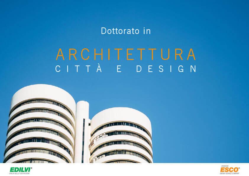 dottorato in architettura 2019