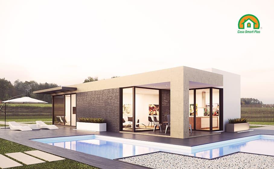 Progetto casa Sharon attraverso il brevetto di realizzazione edifici NZEB Casa Smart Plus