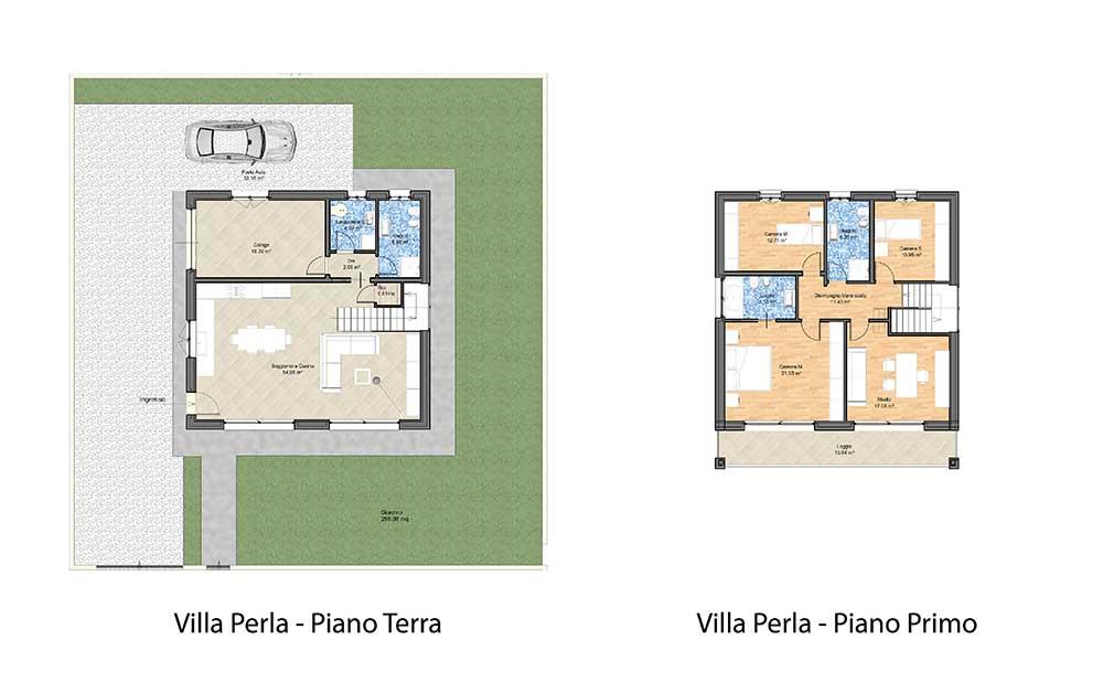 Villa in vendita a Treviso : Vendita terreni edificabili con progetto casa