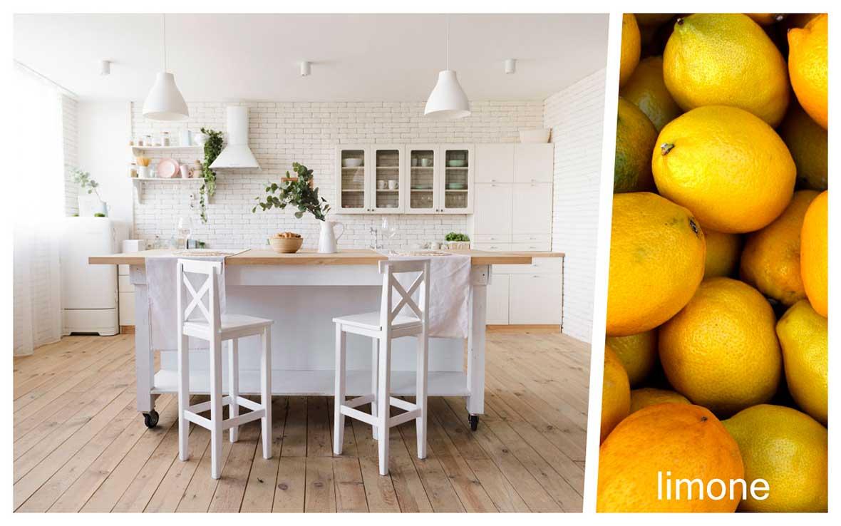 Profumare casa zona cucina: limone