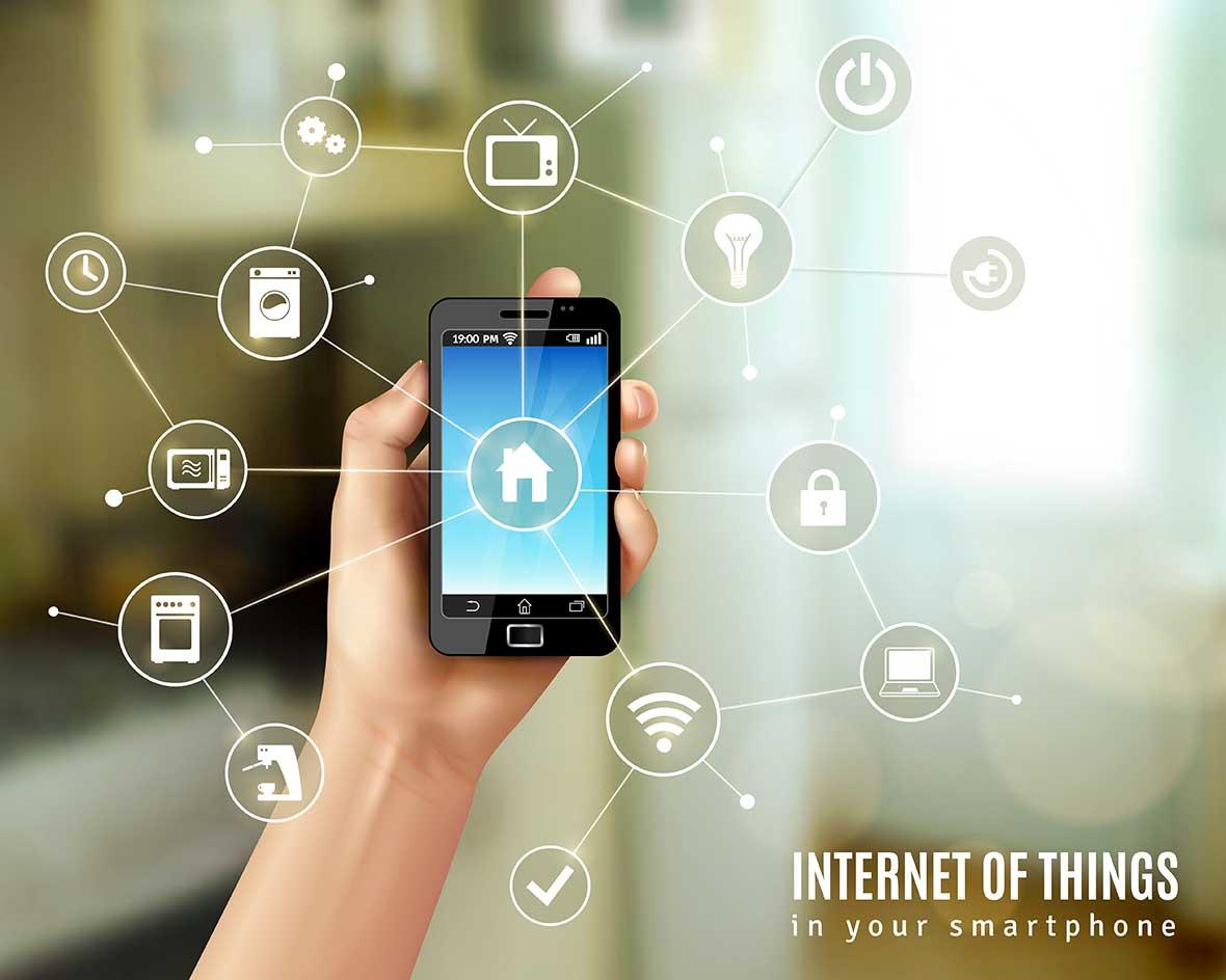 Smart building edificio intelligente smartphone