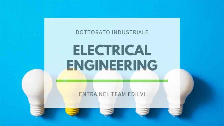 Dottorato industriale in electrical engineering immagine con lampadine